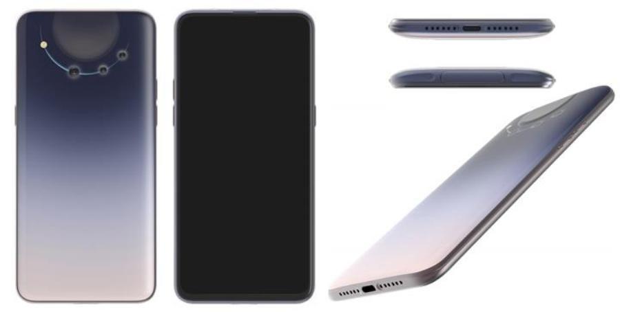 Внешний вид смартфона OPPO
