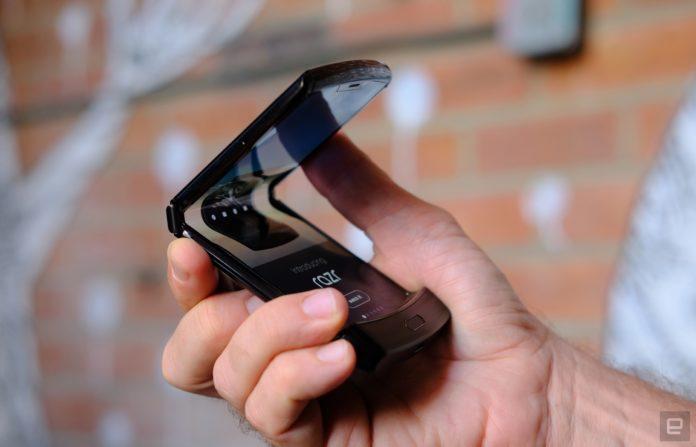 Смартфон Motorola Razr