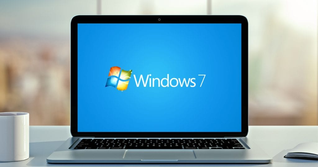 Windows 7 на нноутбуке