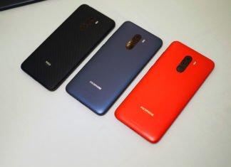 Модельный ряд Xiaomi Pocophone