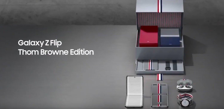 Набор Samsung Galaxy Z Flip Thom Browne Edition