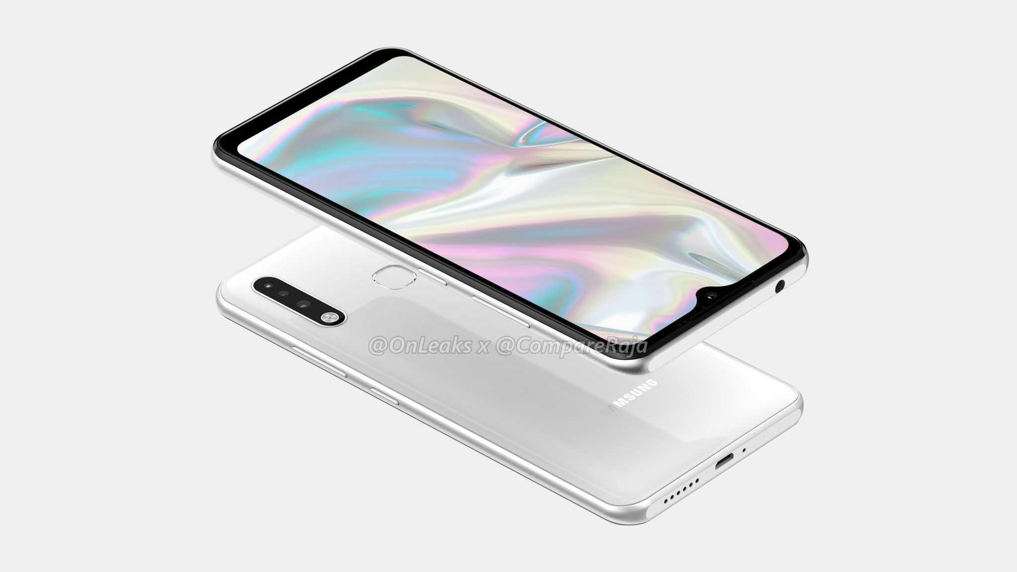 Внешний вид Galaxy A70e