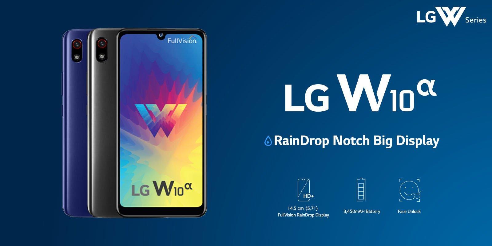 Характеристики LG W10 Alpha