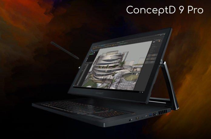 Ноутбук-трансформер ConceptD 9 Pro от Acer