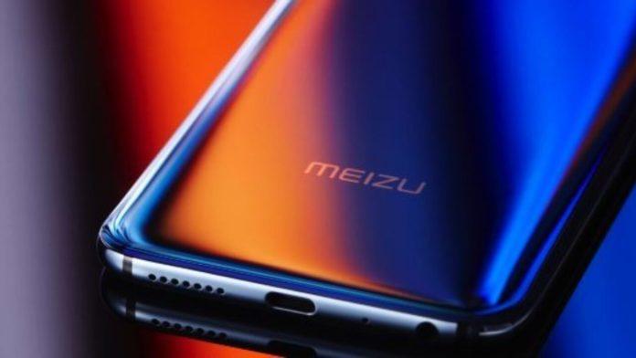 Передняя панель смартфона Meizu