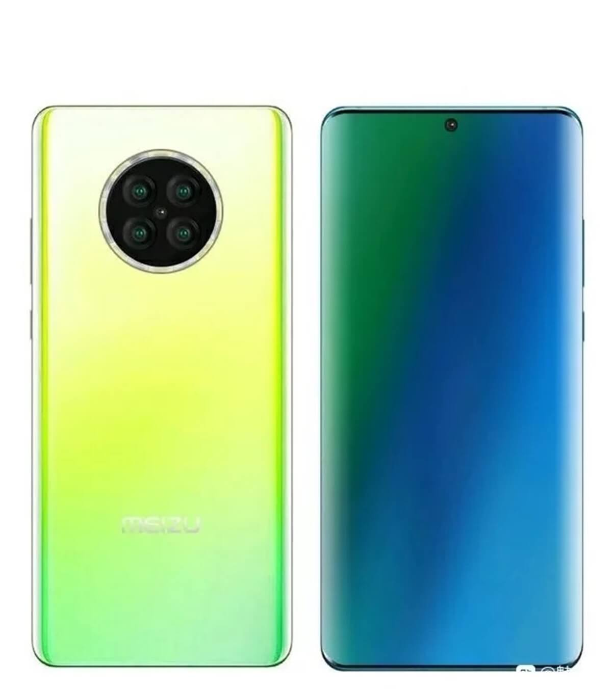 Внешний вид смартфона Meizu 17