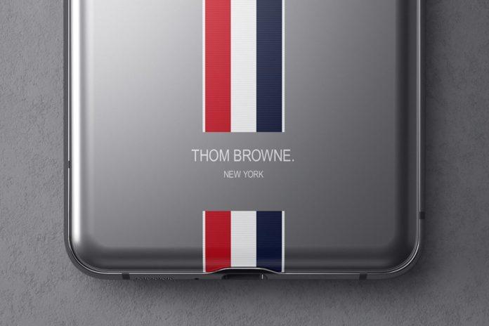 Смартфон Samsung Galaxy Z Flip Thom Browne Edition