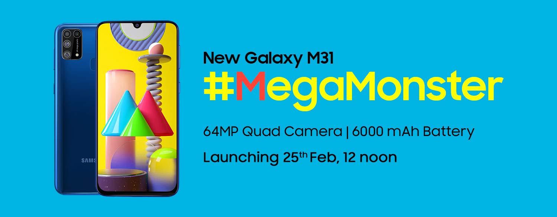 Презентация Samsung Galaxy M31