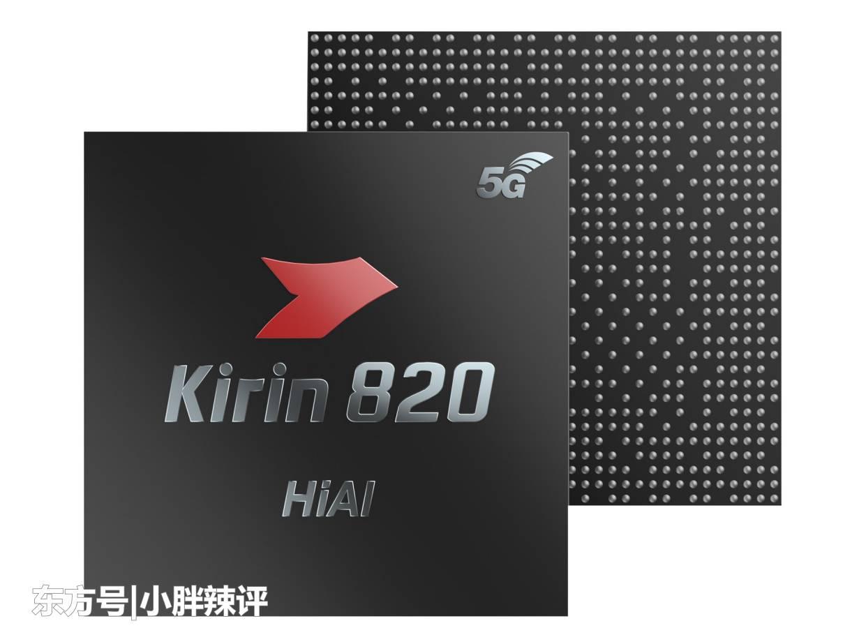Внешний вид роцессора Kirin 820