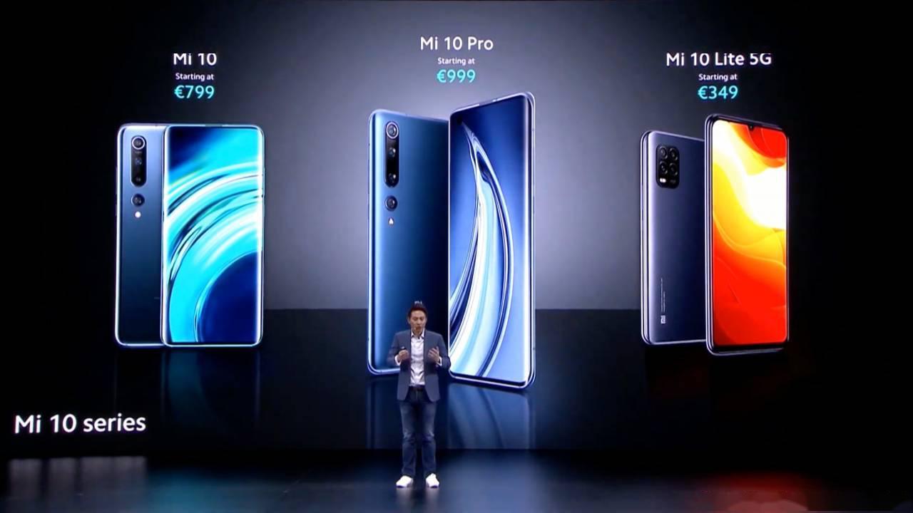 Презентация линейки Xiaomi Mi 10