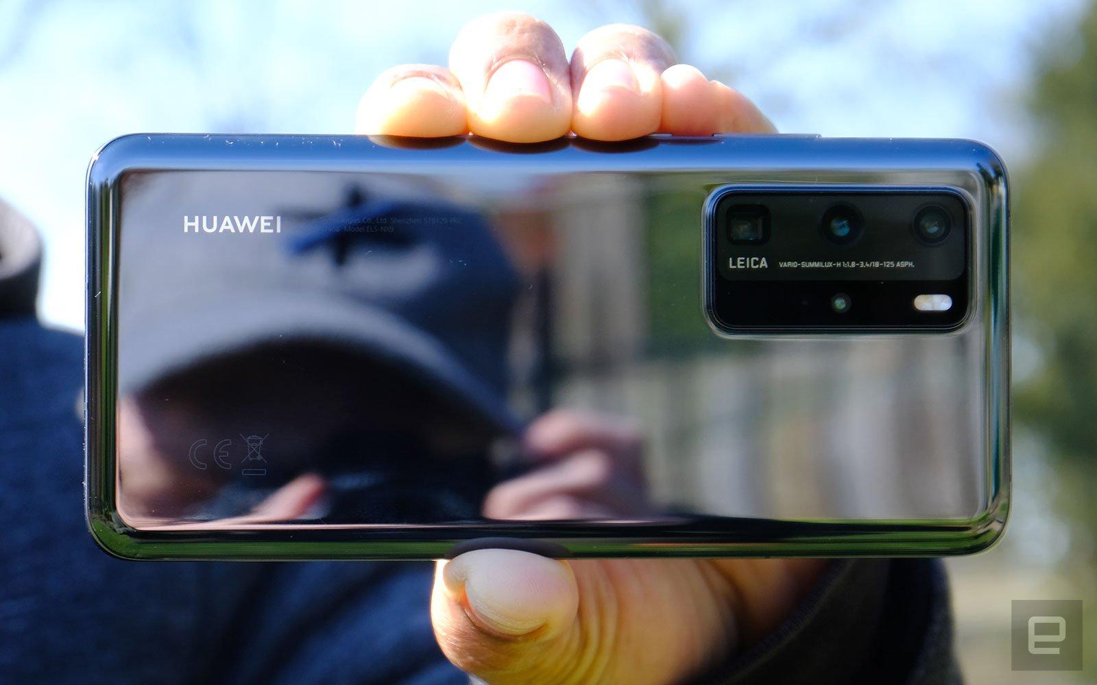 Внешний вид Huawei P40 Pro+