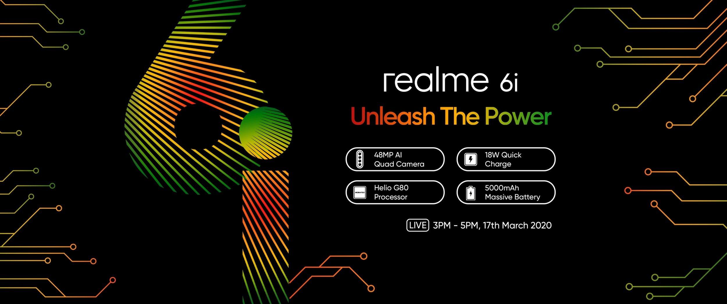 Характеристики Realme 6i