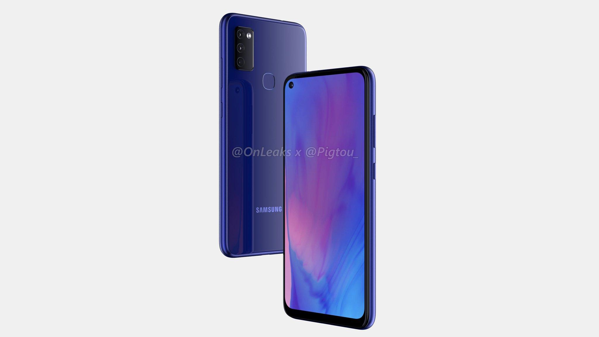 Дизайн Samsung Galaxy M51