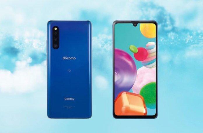 Внешний вид Samsung Galaxy A41