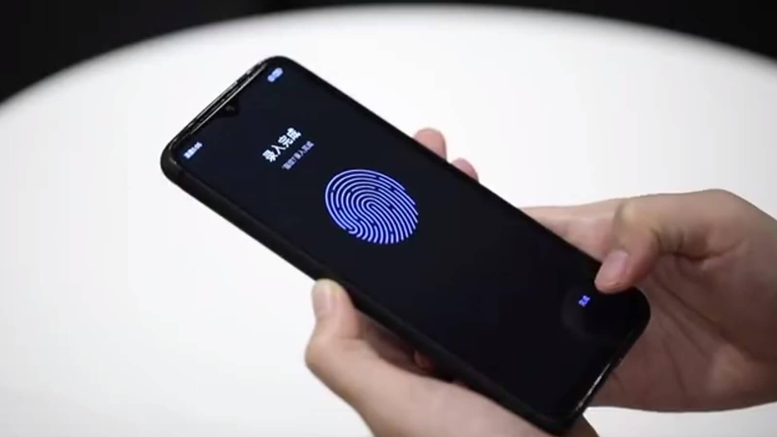 Прототип Redmi с ЖК-экраном и подэкранным сканером отпечатков