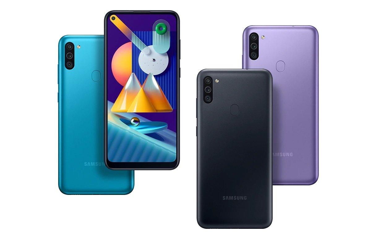 Внешний вид Samsung Galaxy M11