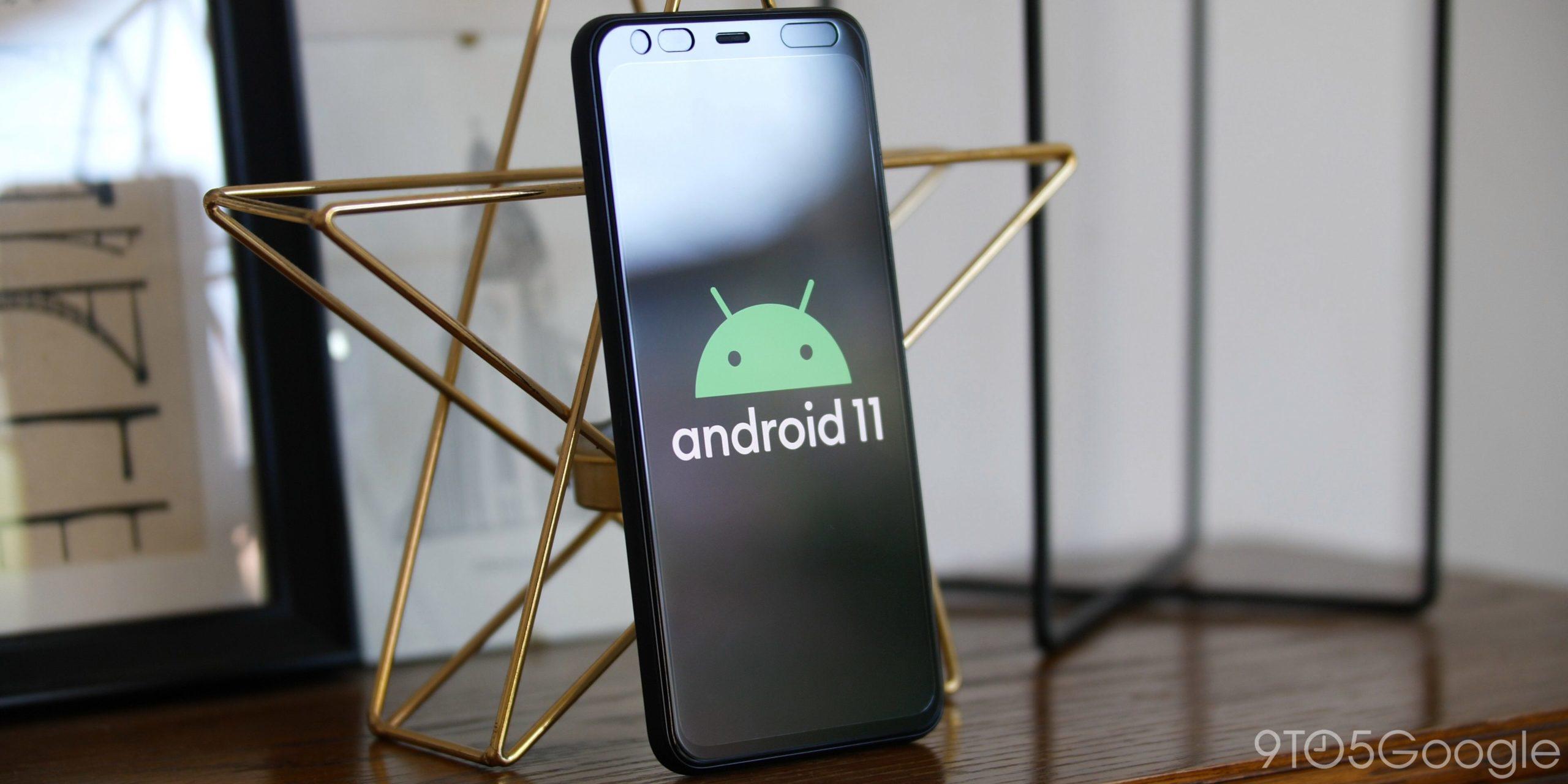 Android 11 на смартфоне