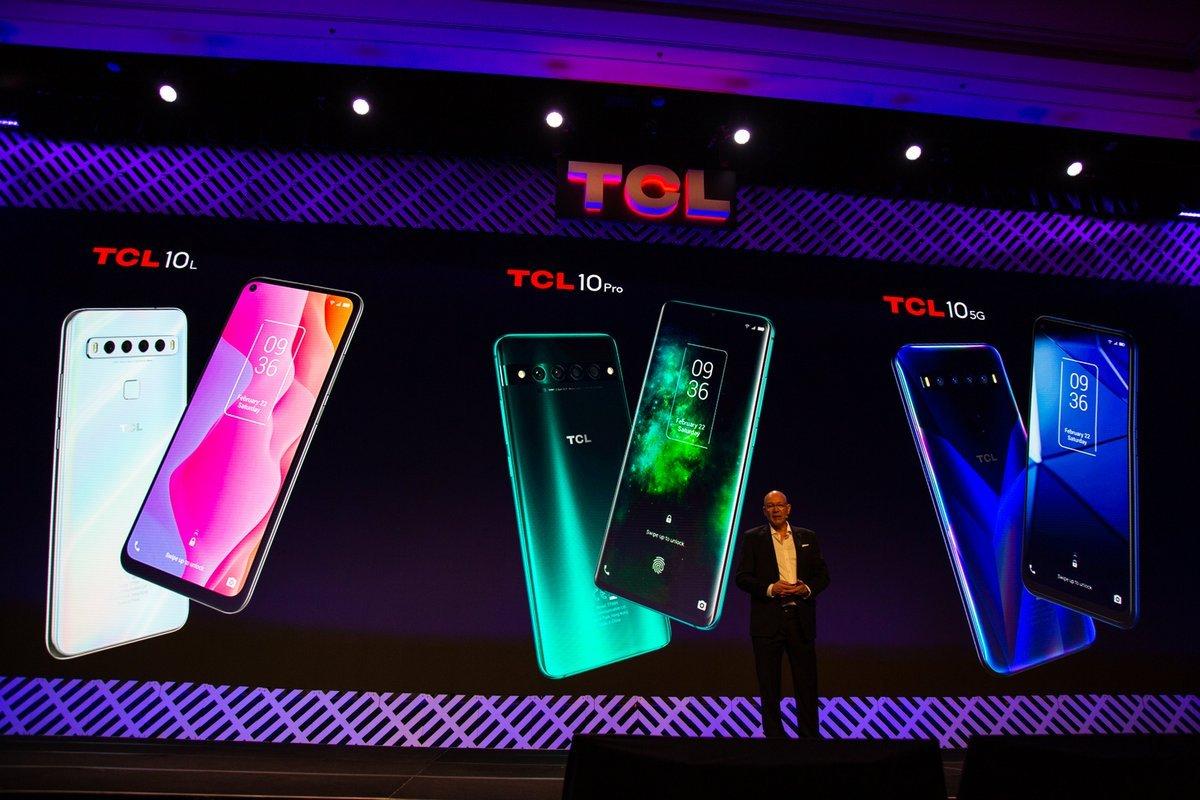 Презентация серии TCL 10