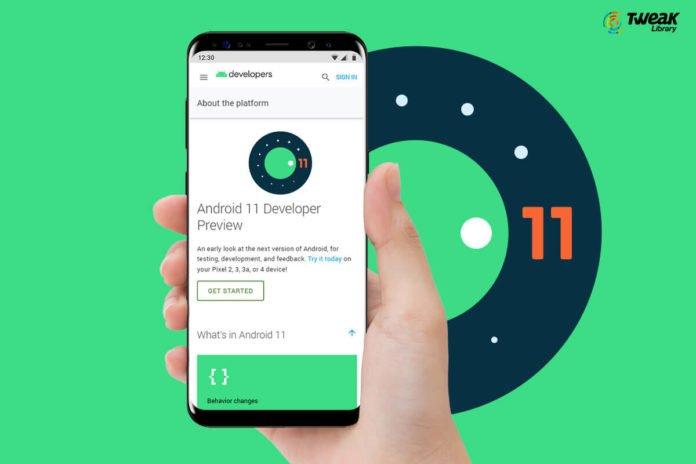 Новая версия ОС Android 11