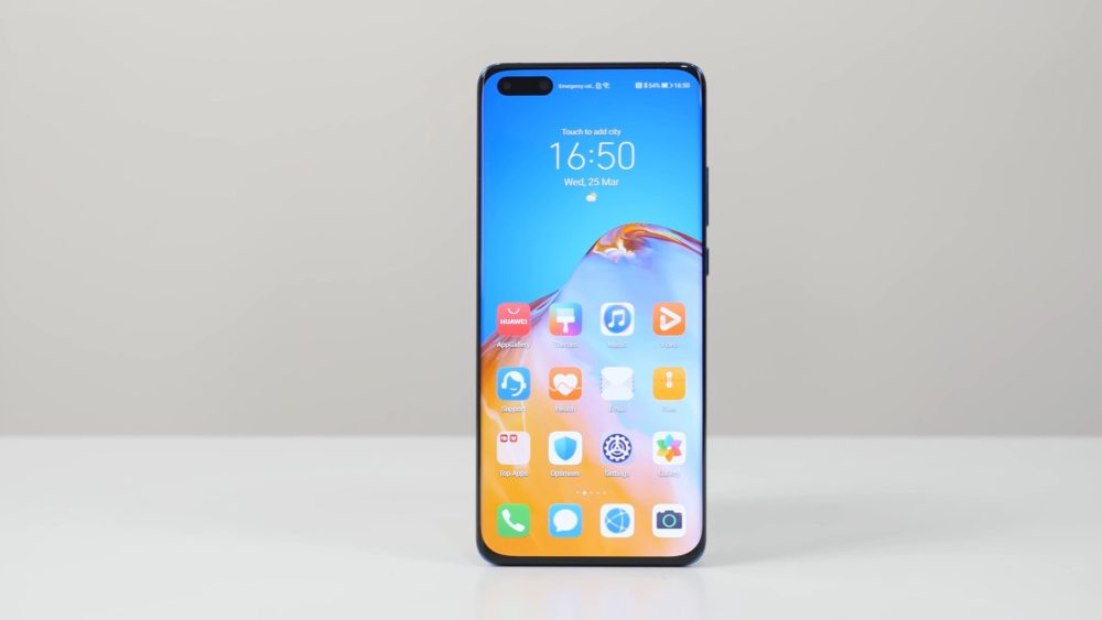 Huawei P40 Pro дисплей