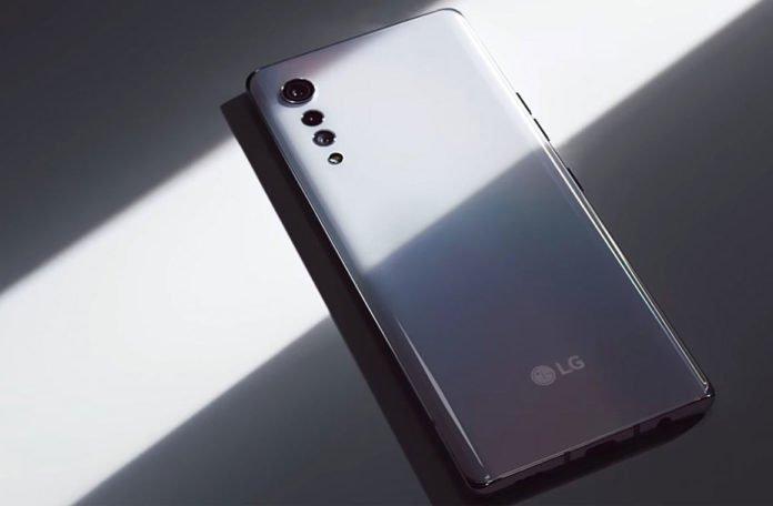 Дизайн LG Velvet