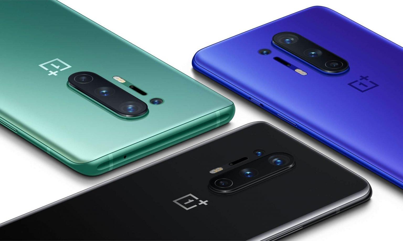Дизайн OnePlus 8 и OnePlus 8 Pro