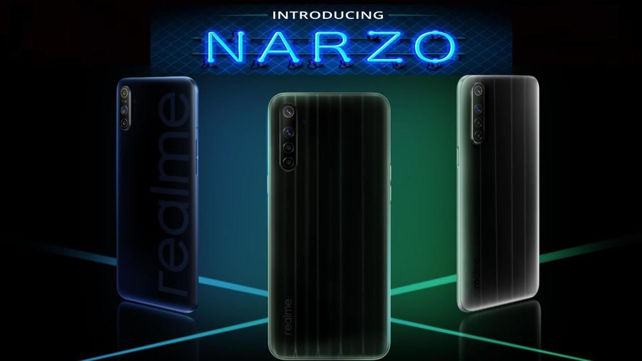 Внешний вид Realme Narzo