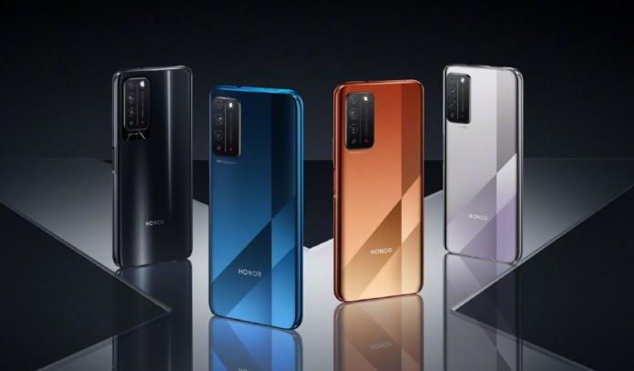Дизайн Honor X10