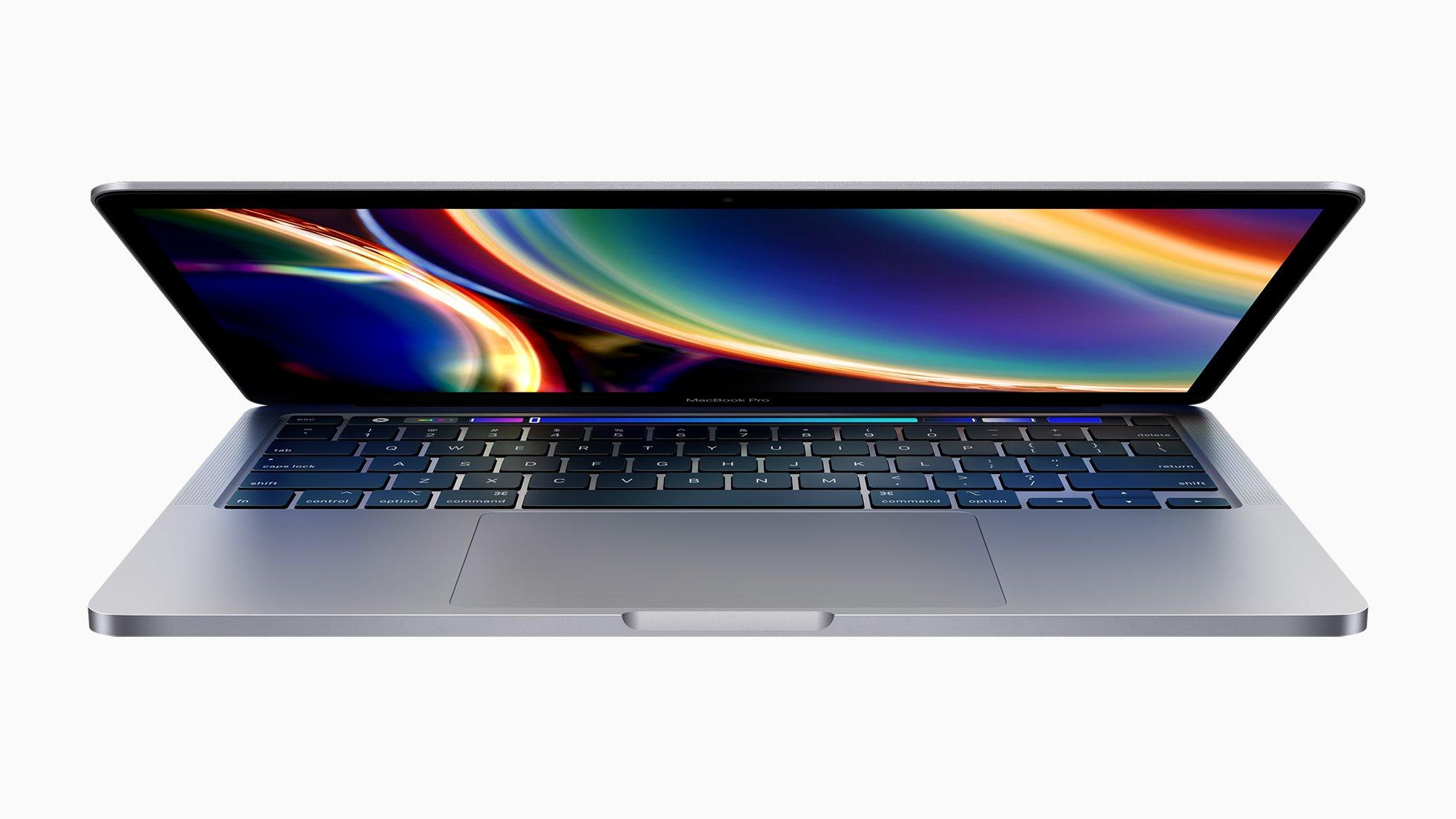 Внешний вид MacBook Pro