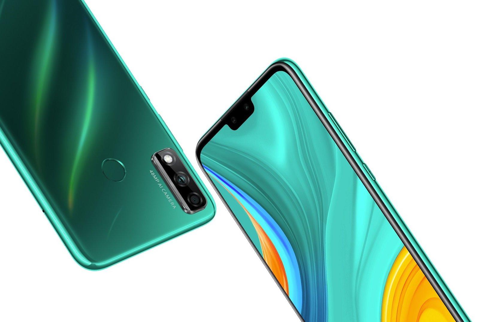 Внешний вид Huawei Y8s