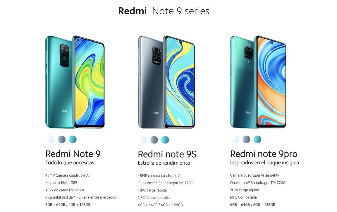 Серия Redmi Note 9