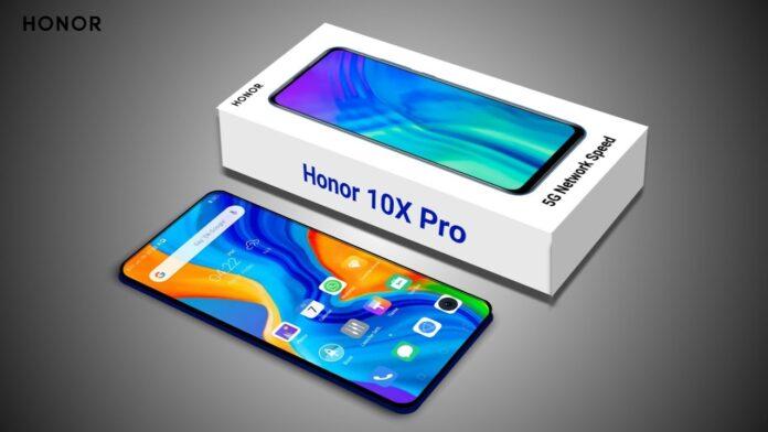 Внешний вид Honor X10 Pro