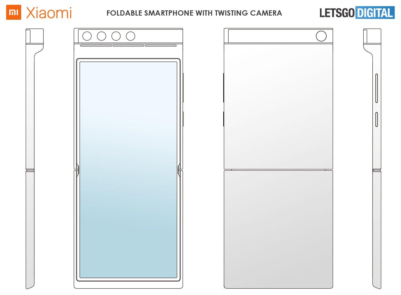 Рисунки нового смартфона Xiaomi