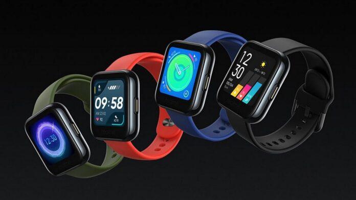 Варианты расцветки Realme Watch