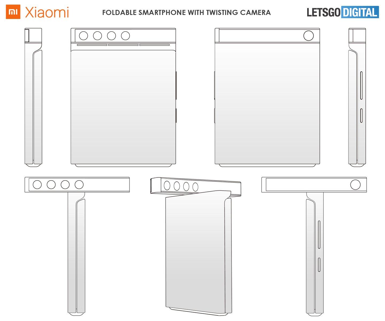 Предполагаемый дизайн нового телефона Xiaomi