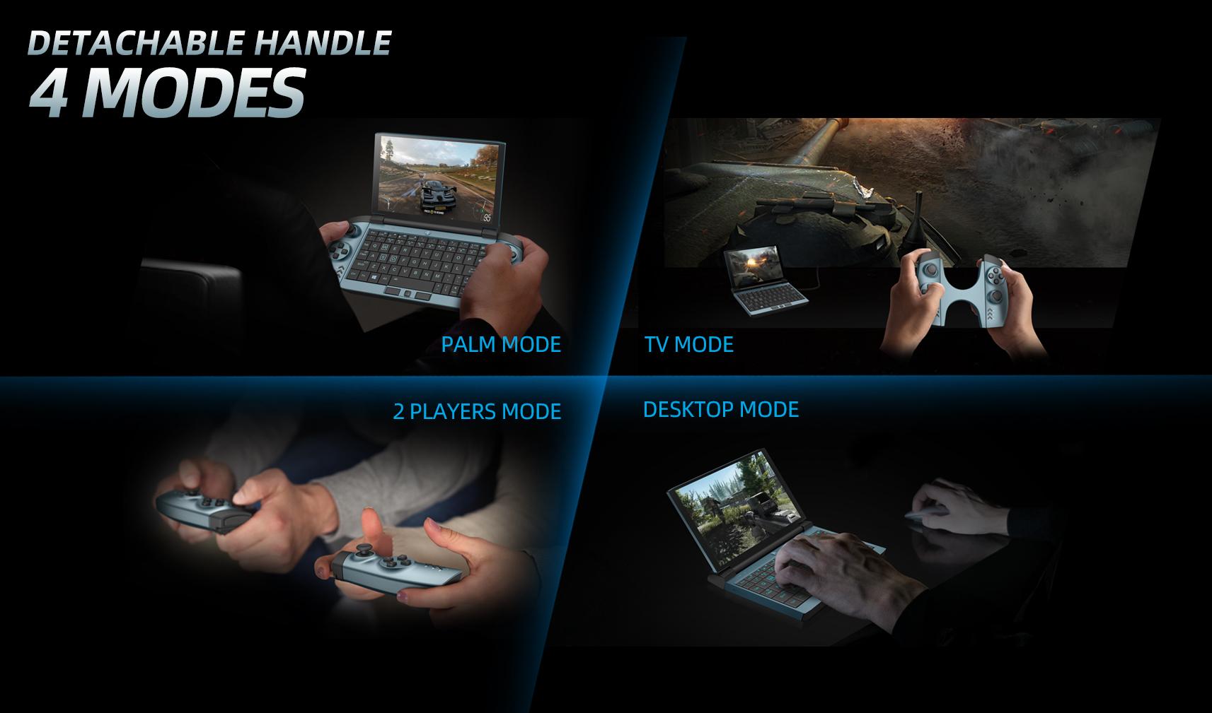 Опции ноутбука One GX1