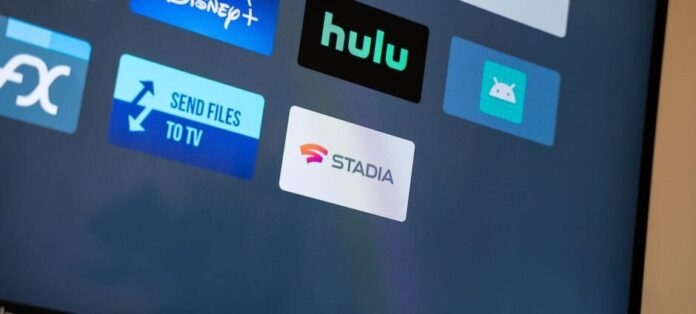 Google Stadia на телевизоре