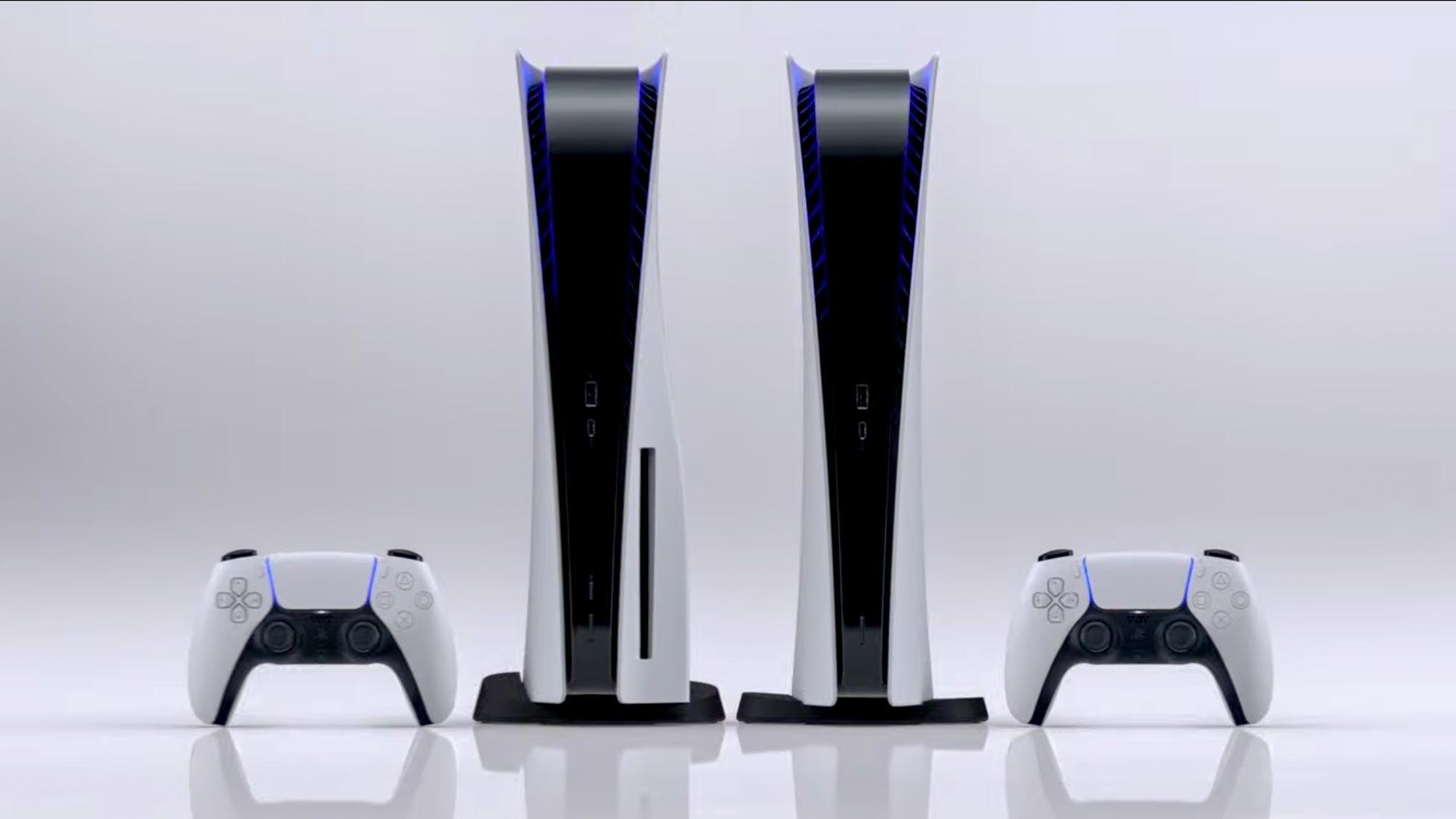 Современный дизайн PlayStation 5