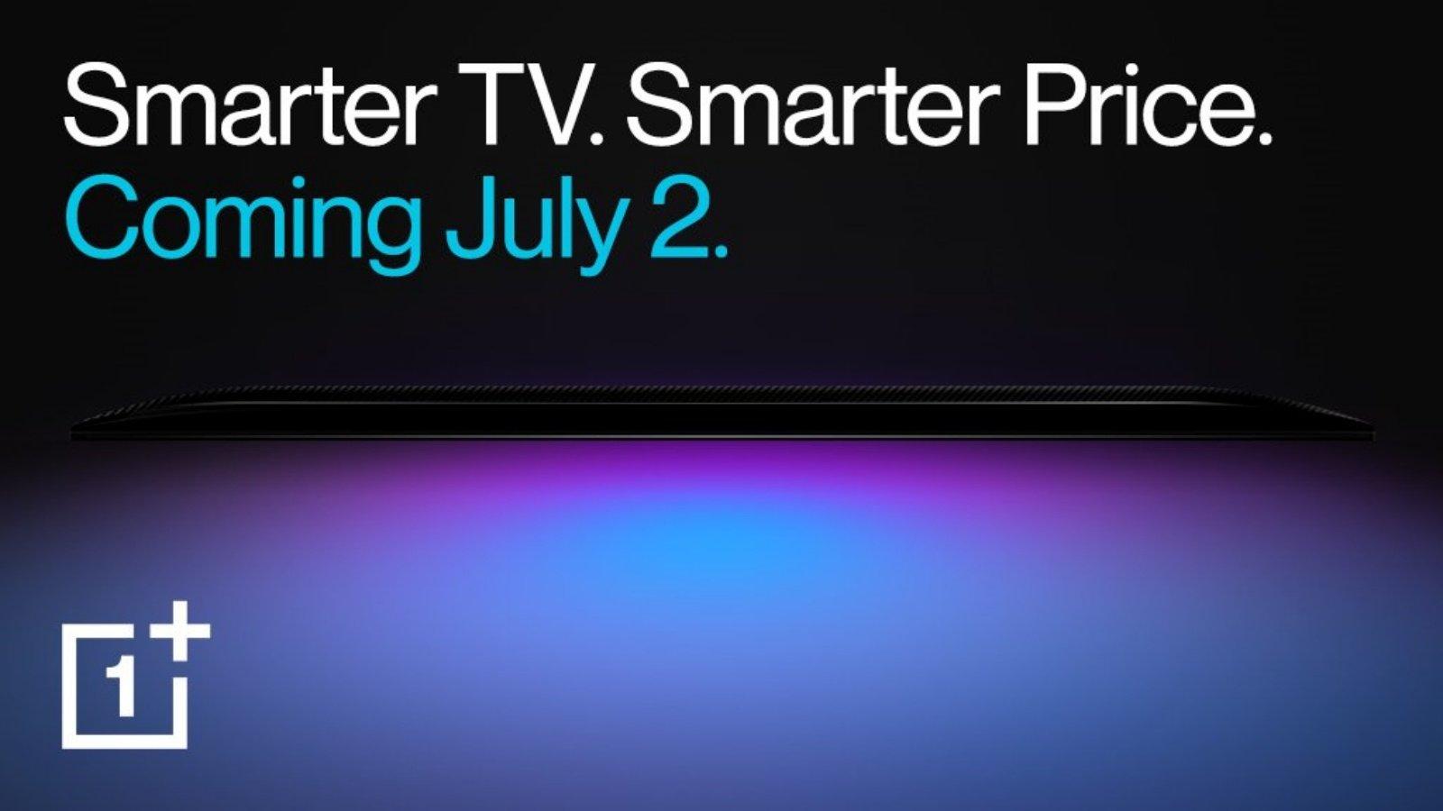 Дата анонса смарт-телевизора от OnePlus