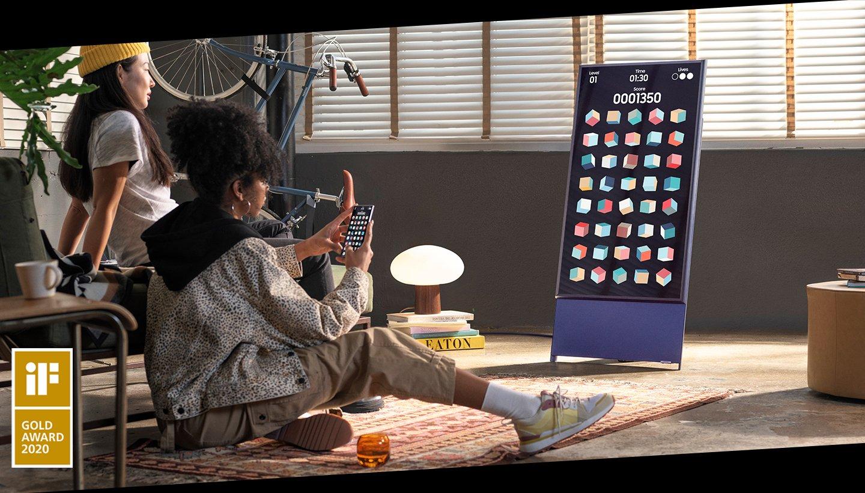 Телевизор The Sero от Samsung