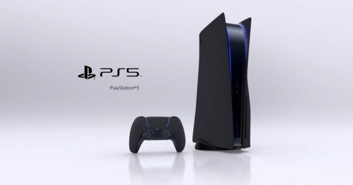 PlayStation 5 в черном цвете