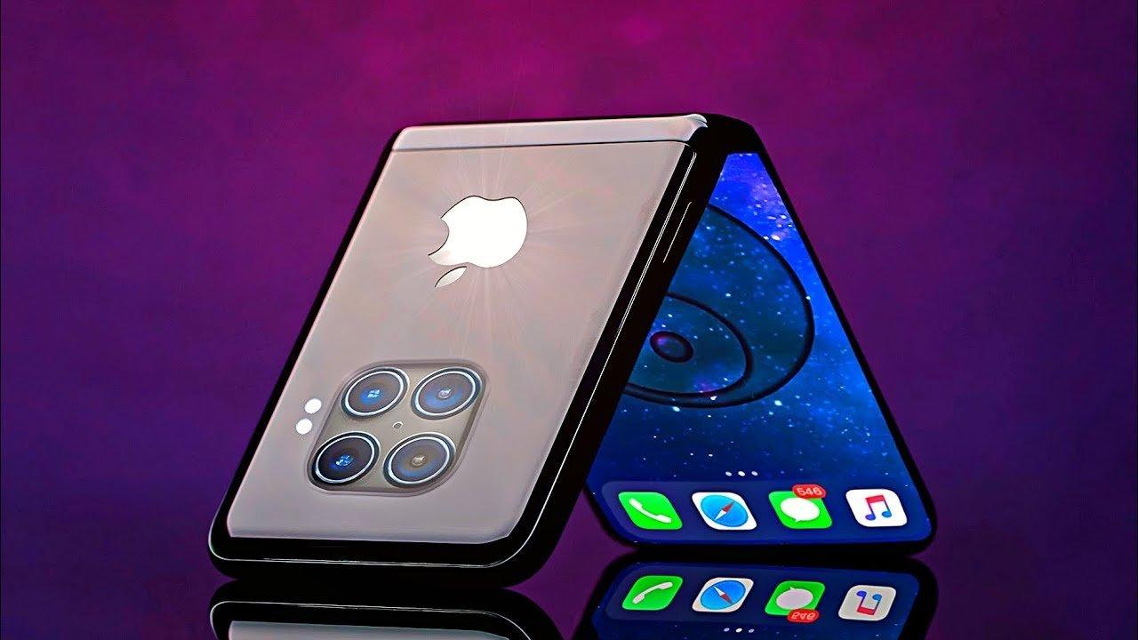 Новый iPhone-раскладушка
