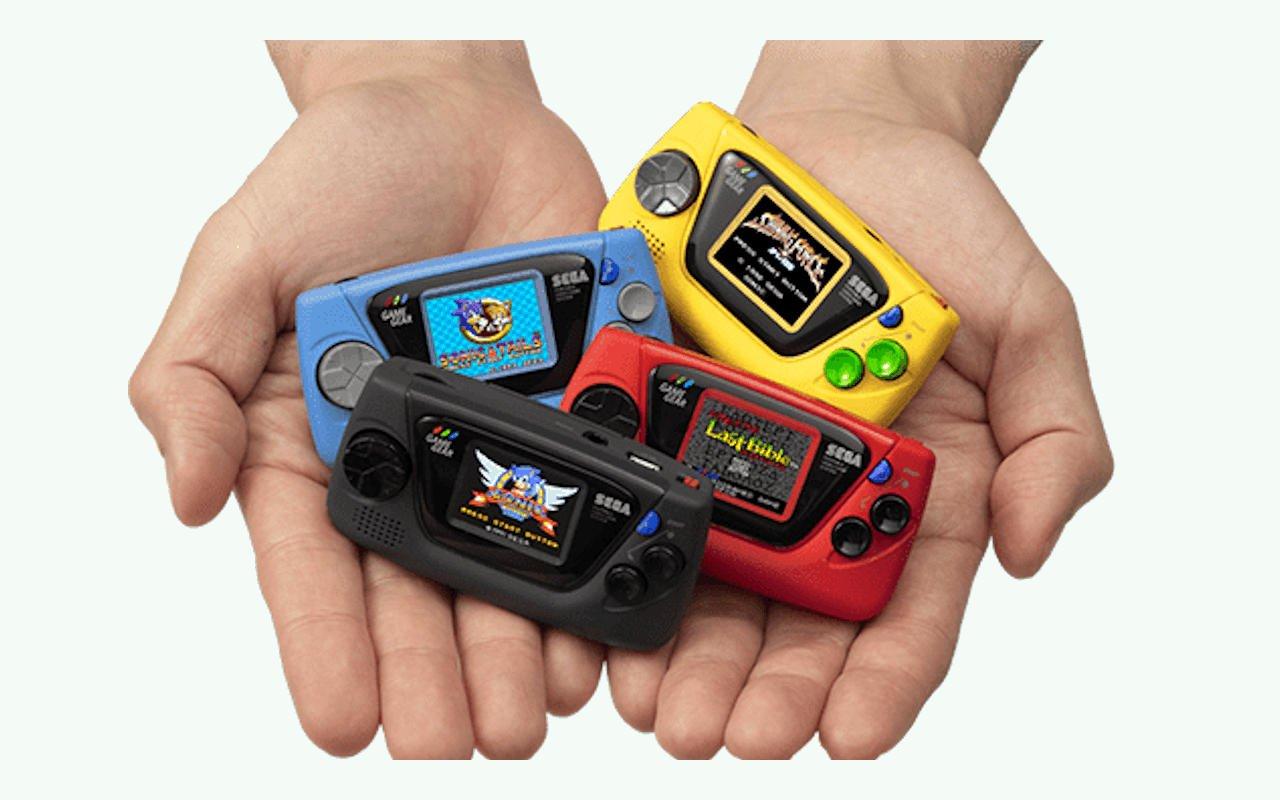 Внешний вид Game Gear Micro