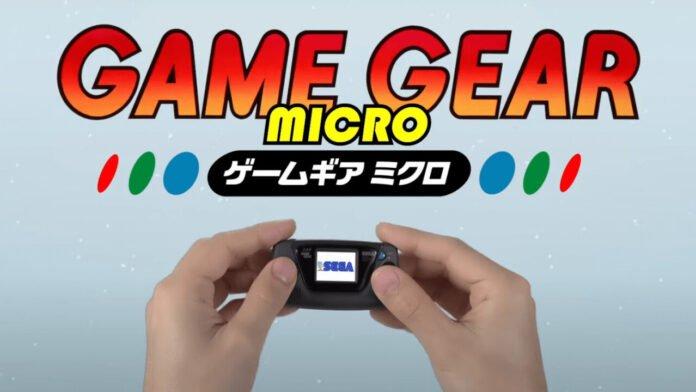 Мини-приставка Game Gear Micro