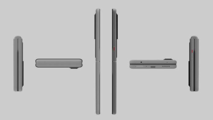 Складной смартфон от Huawei