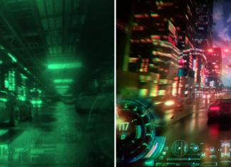 Вид в VR-очках