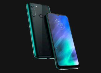 Внешний вид Motorola One Fusion