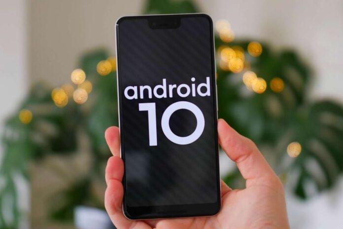 Android 10 на телефоне