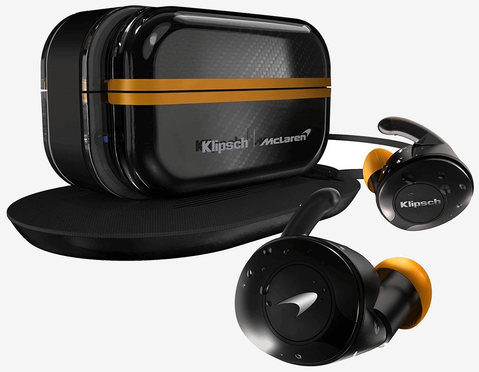 Новинка: Klipsch T5 II True Wireless Sport McLaren Edition