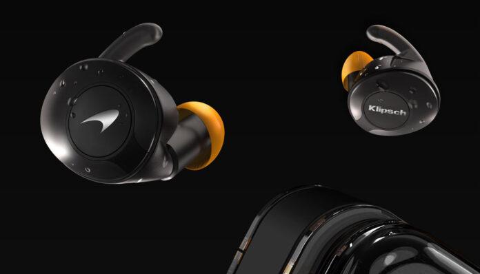 Наушники Klipsch T5 II True Wireless Sport McLaren Edition